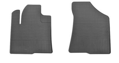 Резиновые коврики Hyundai Santa Fe 06-/10- (передние - 2 шт) 1009102 Stingray