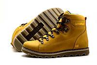 Мужские зимние кожаные ботинки CAT Expensive Arena