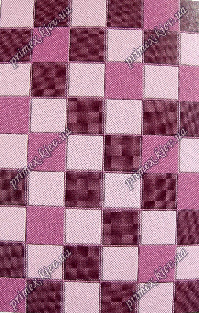 """Рельефный ковер, дорожка Радуга """"Кубик-рубик"""", цвет фиолетовый"""