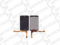 Дисплей для Sony Ericsson ST17i Xperia Active + touchscreen, чёрный big ic/ small ic