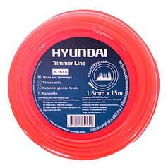 Додаткова струна до тримерів та мотокіс Hyundai TL 15-1.6