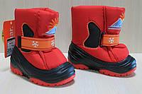 Зимние сапоги Демар на девочку, детская зимняя обувь тм Demar р. 22-23