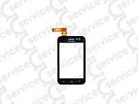 Тачскрин для Sony ST21i Xperia Tipo/ ST21i2, чёрный, оригинал (Китай) big ic(6mm)/ small ic(5mm)