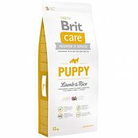 Brit Care Puppy All Breed Lamb& Rice 12кг Сухой корм для щенков всех пород с ягненком и рисом