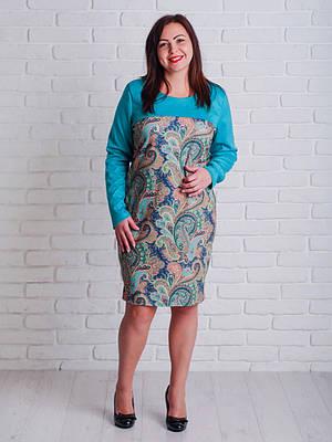Свободное женское платье на каждый день