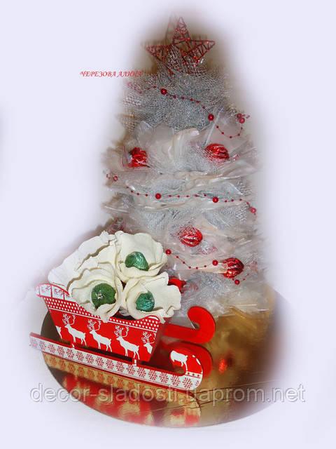 """Букет из конфет""""Новогодний дуэт"""""""