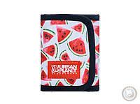 Тканевый кошелёк (портмоне) Urban Planet - ARBZ (красный \ зелёный \ белый)