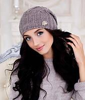 Женская шапка Braxton Аурелия коричневая