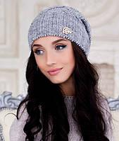 Женская шапка Braxton Аурелия серая