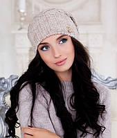 Женская шапка Braxton Аурелия бежевая