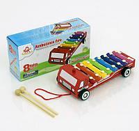 Ксилофон - каталочка деревянная машина 0462