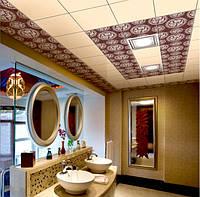 Подвесной потолок в санузел, фото 1