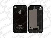 Задняя крышка для iPhone 4S черная, копия