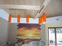 Подвесной потолок в сауну, фото 1