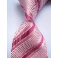 Галстук мужской с оттенками розового цвета KAILONG