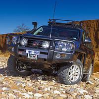 Передняя защита ARB Delux Toyota Land Cruiser 200 12-15
