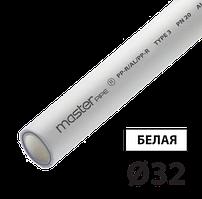 Труба композит 32 PPR-AL-PPR TEBO белая 4/40 м