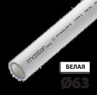 Труба композит 63 PPR-AL-PPR TEBO белая 4/12 м, фото 1