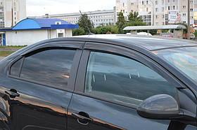 Дефлекторы окон (ветровики) Chevrolet Aveo Sd 2011 Cobra Tuning
