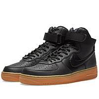 Оригинальные  кроссовки Nike W Air Force 1 High SE Black