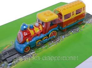 Железная дорога-конструктор для маленьких