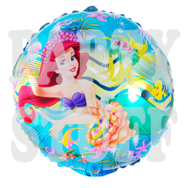 фольгированный шарик Русалочка