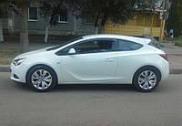 Дефлекторы окон (ветровики) OPEL Astra J GTC 3d 2011