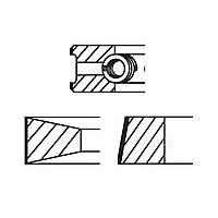 Кольца поршня (D=102мм) (4B/6B/BT/BTA)