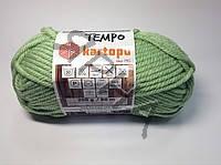 Пряжа Темпо (M000391-салат),(Шерсть(25%),Акрил(75%)),Картопу(Туреччина),200(гр),80(м)