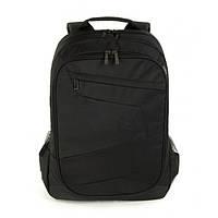 Городской рюкзак tucano lato blabk для ноутбука 15.6'-17' black