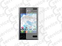 Защитная плёнка для LG E400 Optimus L3 (прозрачная)