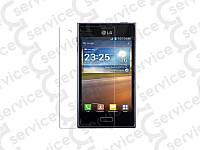 Защитная плёнка для LG E610 Optimus L5/ E612/ E615 (прозрачная)