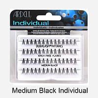 Ресницы пучками безузелковые комбинированные черные Duralash Individual Ardell