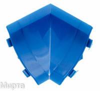 Бортик узкий стык внутренний синий 402