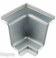 Бортик широкий алюминий стык внутренний 90 (КР) REHAU серый