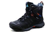 Кроссовки Adidas Climaproof, зимние, высокие, на меху, черные, фото 1