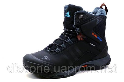 Кроссовки Adidas Climaproof, зимние, высокие, на меху, черные