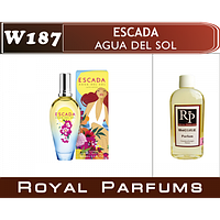 «Agua del Sol» от Escada. Духи на разлив Royal Parfums 100 мл