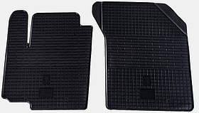 Коврики резиновые в салон Fiat Sedici 2006- передние (2шт) Stingray