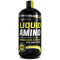 Аминокислоты AMINO LIQUID 1000мл Biotech (вкусы)