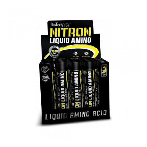 Жидкие аминокислоты Amino Liquid ampoules 25 мл х 20 штук Biotech