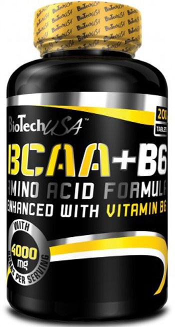 Аминокислоты BCAA+B6 - 200 т Biotech