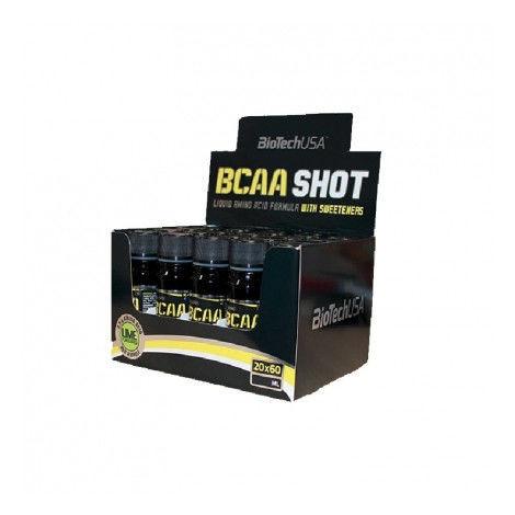 Аминокислоты BCAA Shot 60мл х 20штук ампул