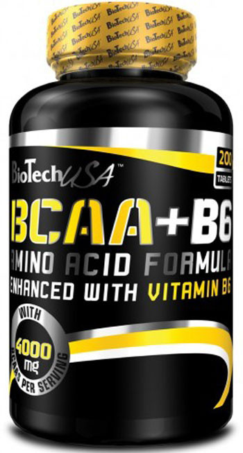 Аминокислоты BCAA+B6 - 340 т Biotech