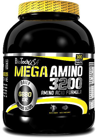 Аминокислоты Mega Amino 3200 - 100 табл Biotech