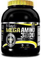 Аминокислоты Mega Amino 3200 - 500 табл Biotech