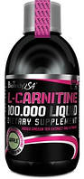 Жиросжигатель L-CARNITINE LIQUID 100 000 (500мл - вишня, яблоко) Biotech