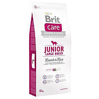 Brit Care Junior Large Breed Lamb&Rice 12кг Сухой корм для щенков крупных пород с ягненком и рисом