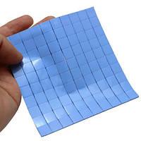 10x Термопрокладка под радиатор 15х15х2мм, силикон