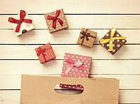 Подарки, открытки, упаковка